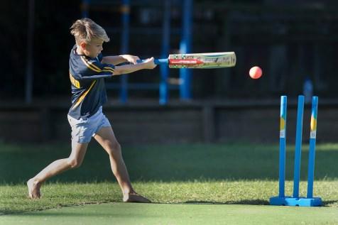 Blitz Cricket, Milford Primary School, Thursday, March 23, 2017. Photo: David Rowland / www.phototek.nz