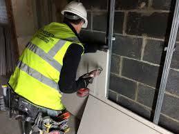 Plasterboard Drywall system Installation