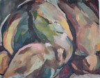 """Nena 1"" Oil on canvas 40x50cm"