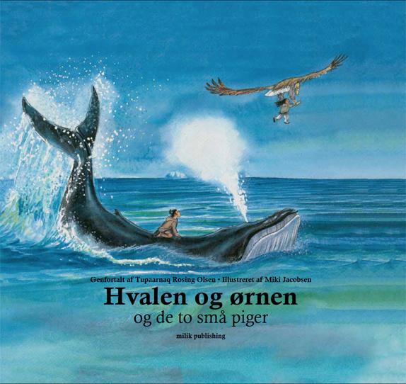 Hvalen og ørnen, sagn og myter, grønland, milik publishing