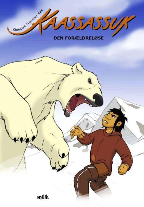 Tegneserie, grønlandsk sagn, greenland, milik