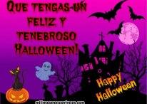 Imágenes de Halloween: Que tengas un feliz y tenebroso Halloween