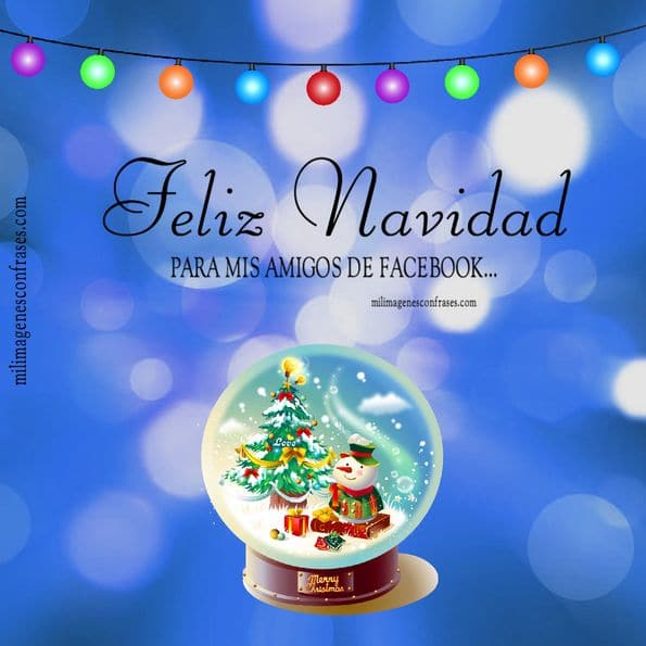 imagen tarjeta navidad amigos amigas
