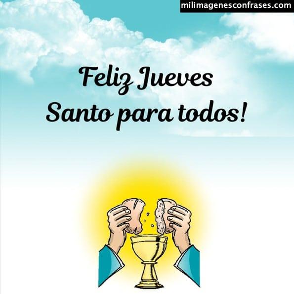 Imágenes feliz jueves santo