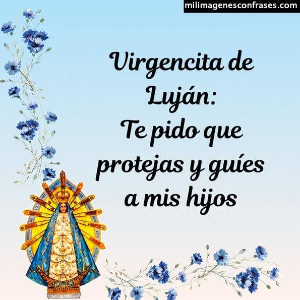 Imágenes y estampitas de la Virgen de Luján