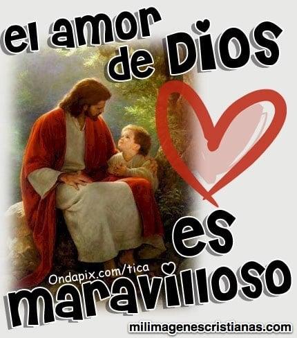 el amor de dios es maravilloso