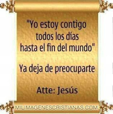 imagenes cristianas jesus esta contigo