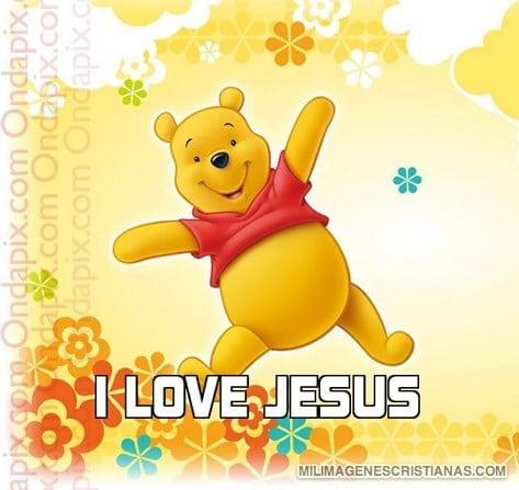imagenes de i love jesus
