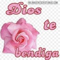 Imágenes Cristianas de DIOS te bendiga con flores