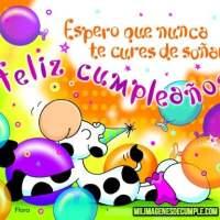 Imágenes de feliz cumpleaños con frases y globos