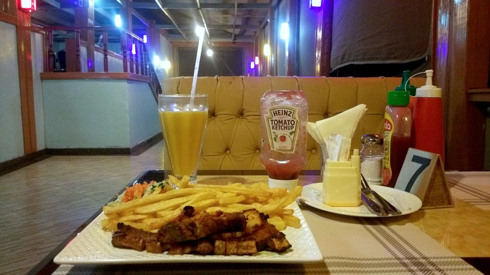 Delicious Meals Milimani Beach Resort