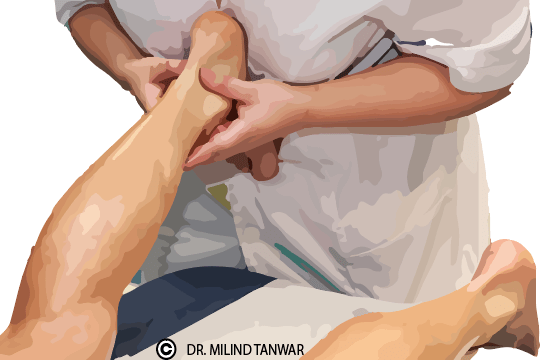 Achilles tendinitis get treated by best orthopedic dr. milind tanwar