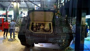 MSCA armor kits for the Lebanese Army M113 at SMES 2015