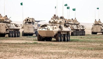 "Saudi Arabian National Guard LAV II & LAV II AT during ""Northen Thunder"""