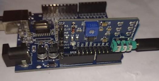 arduino uno with easy pulse plugin