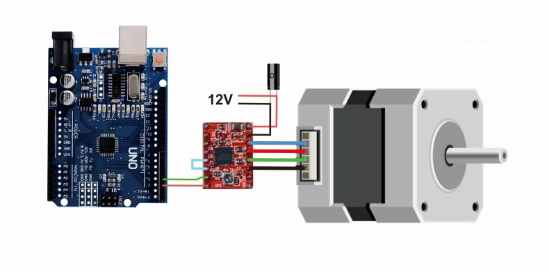 Arduino with using motor stepper Stepper Motors