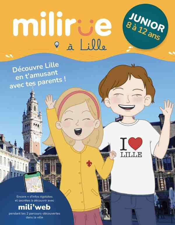 Milirue - Couverture carnet junior
