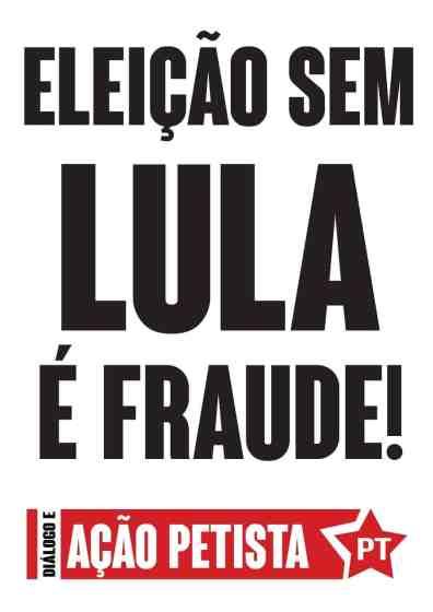Pirulito DAP - EleicaosemLulaeFraude