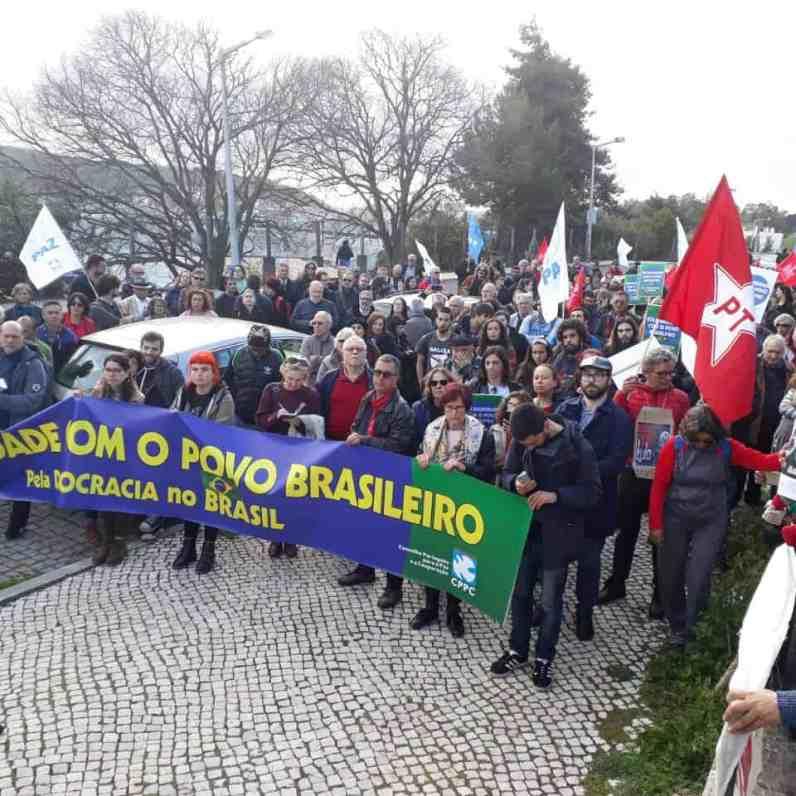 Ato em Lisboa, Portugal