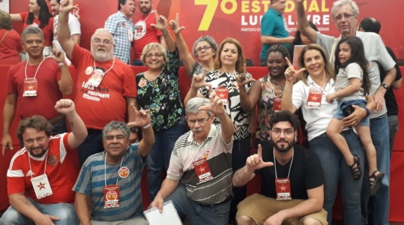 Bancada do DAP no Congresso do PT de Minas