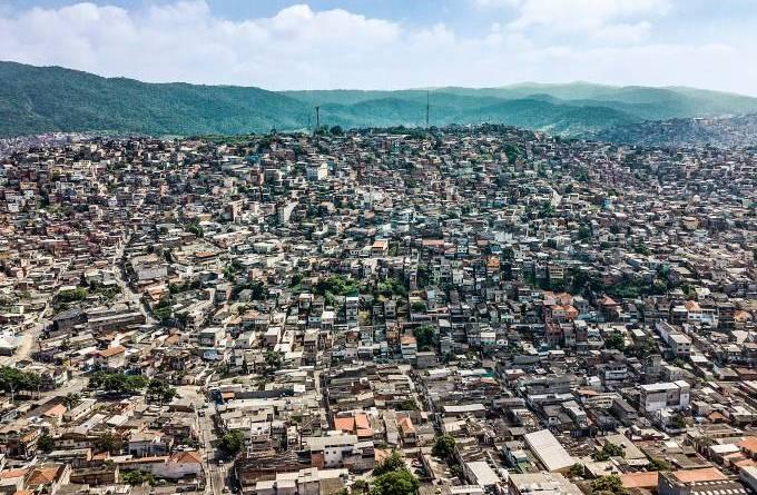 Vista aérea da Brasilândia