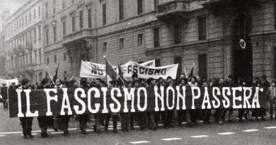 """Manifestação """"fascismo não passará"""""""
