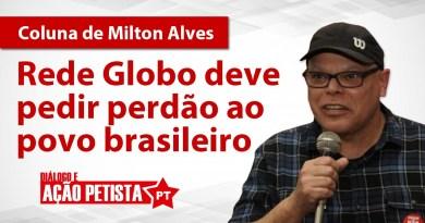 Capa da coluna de Milton Alves