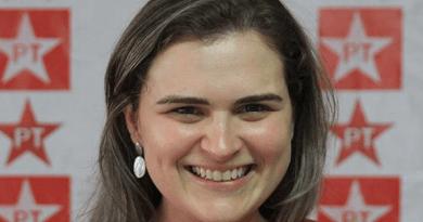 Marília Arraes em campanha