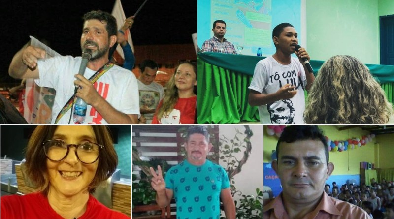 pré candidatos do DAP de Parintins/AM