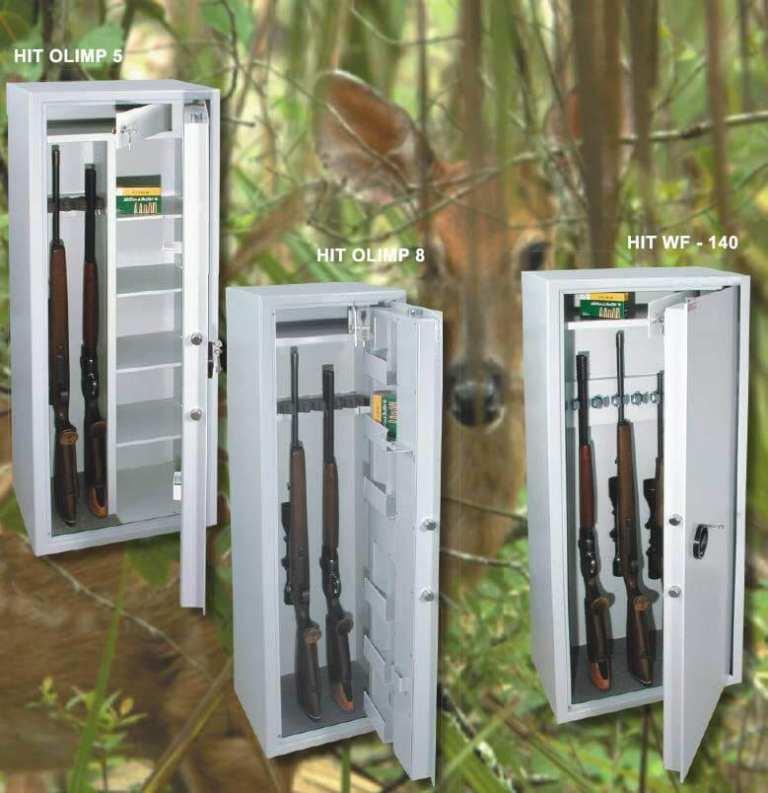 przechowywanie broni