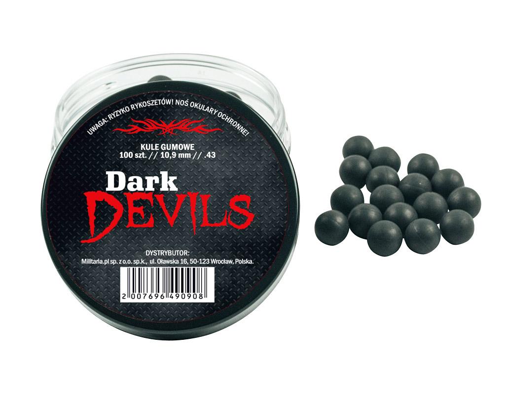Kule gumowe RAM Dark Devils .43 - 100 szt.
