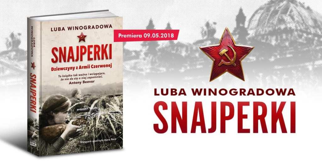 książka Luba Winogradowa Snajperki. Dziewczyny z armii Stalina