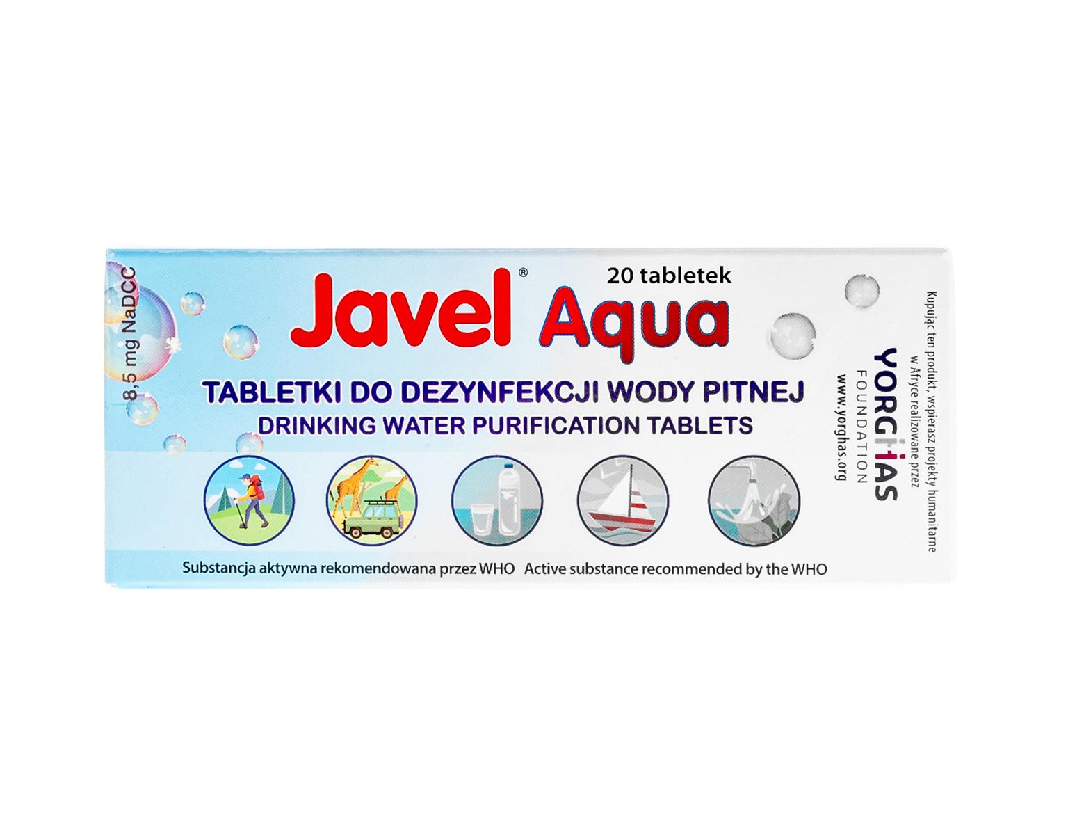 Tabletki do dezynfekcji wody pitnej