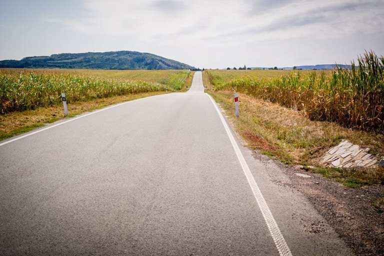 529,5 km na rowerze w dwa dni droga