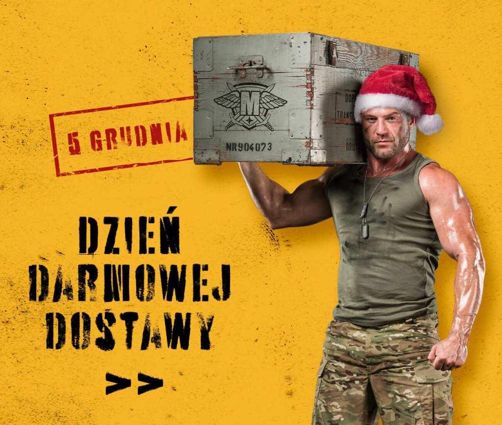 darmowa dostawa 5 grudnia