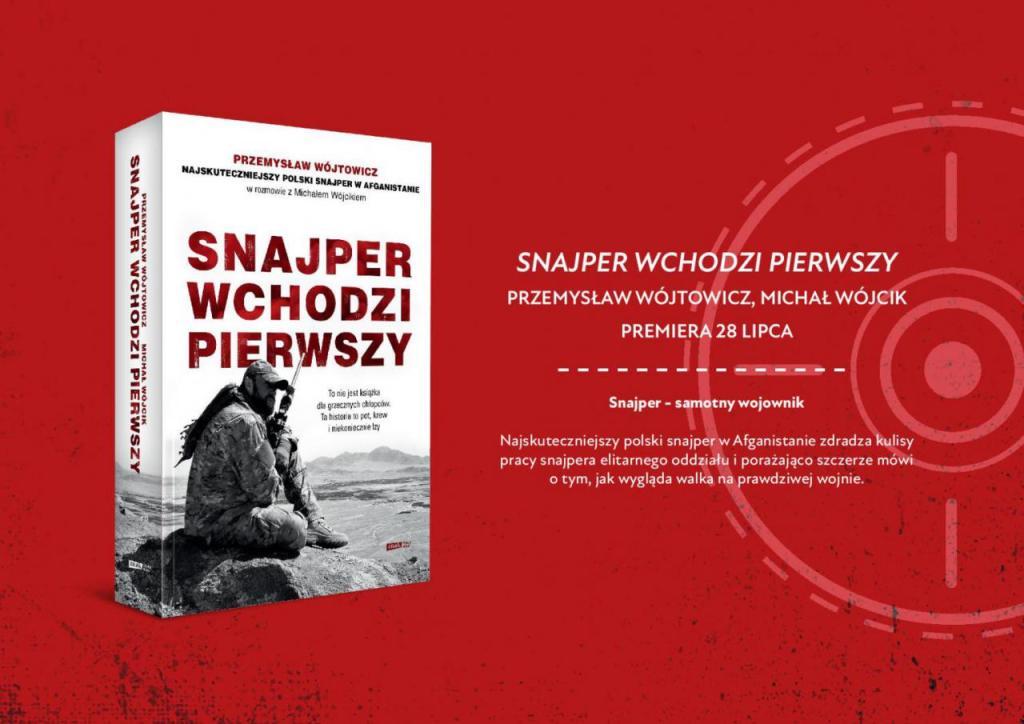 snajper wchodzi pierwszy książka