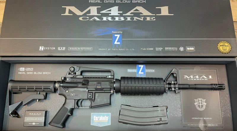 Military-Rexの買取情報『東京マルイ M4A1カービン (GBB)』