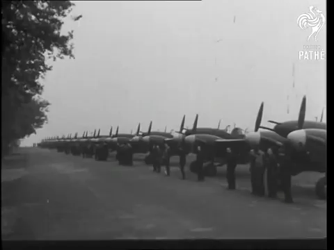 VIDEO RAF Westland Whirlwind Fighters 1943 Military