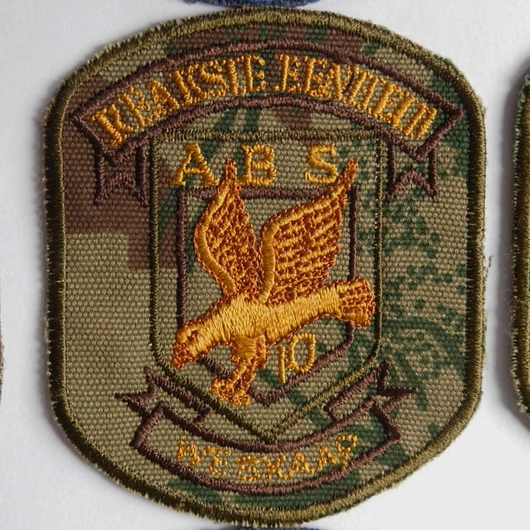 SAP South Africa Police 10 Reaction Unit WESKAAP Arm Cloth Badge CAMO