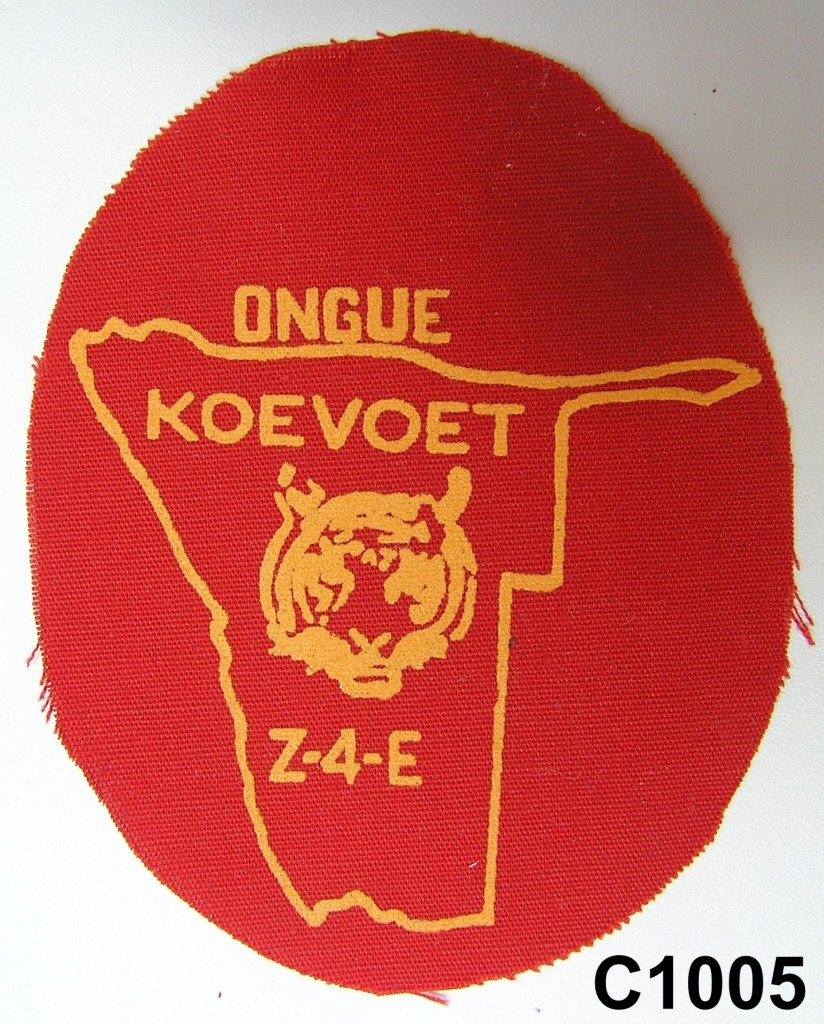 KOEVOET SWA South West Africa ELITE Police SWAPOL Special Force ONGUE Z4E Patch
