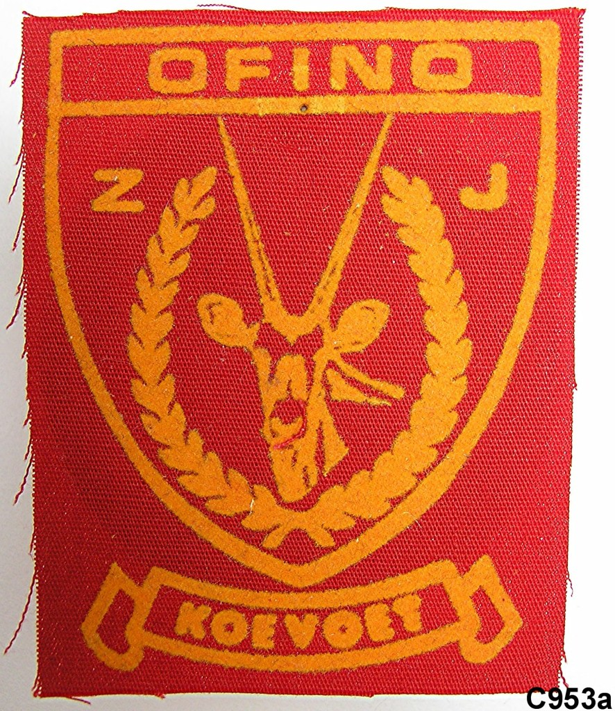 KOEVOET SWA South West Africa ELITE Police SWAPOL Special Force OFINO