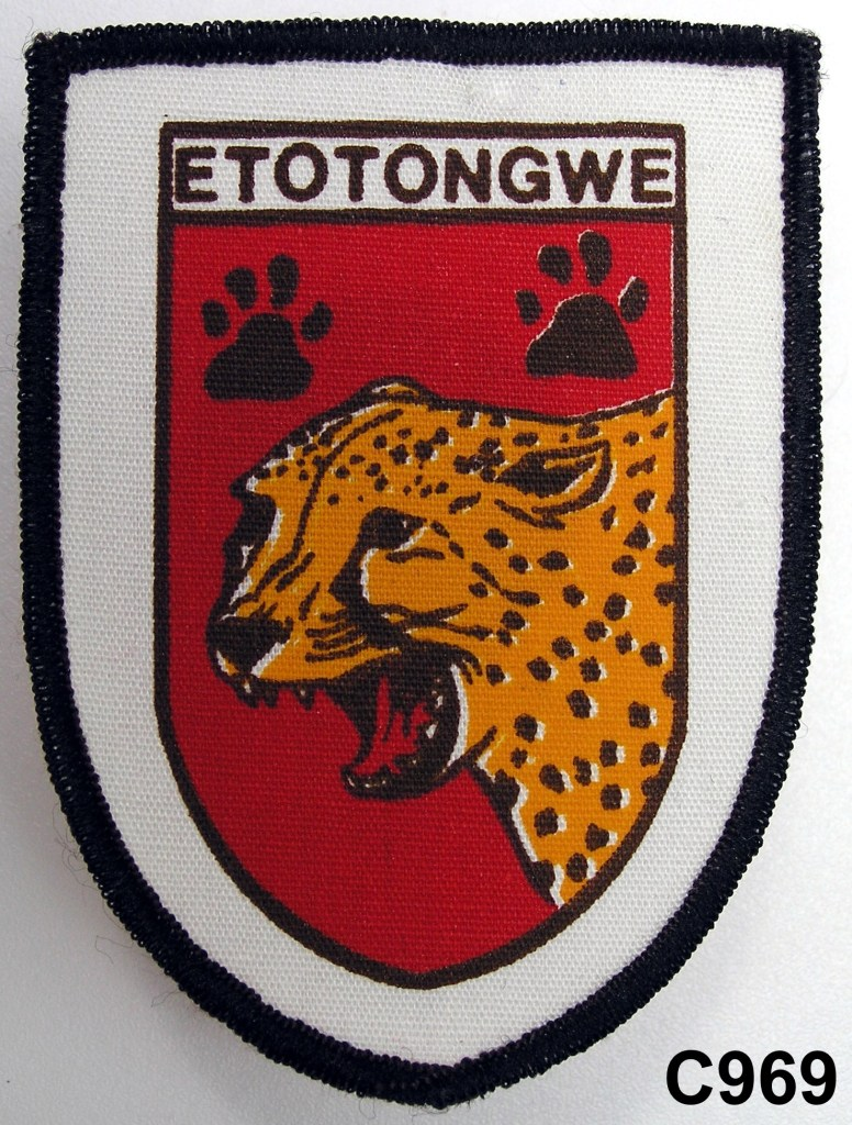 KOEVOET SWA South West Africa ELITE Police SWAPOL Special Force ETOTONGWE