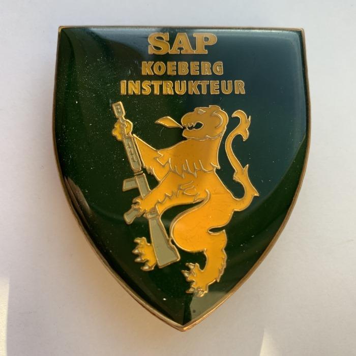 South Africa Police SAP KOEBERG Counter Insurgency enamel Flash Badge Insignia B