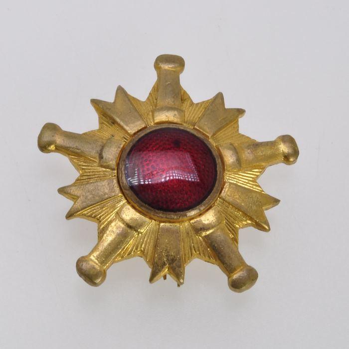 Japan Fire Brigade Merit Medal Order Japanese Army Badge Insignia 1