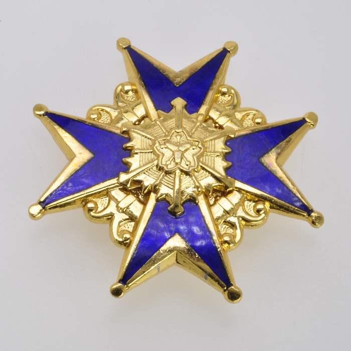 Japan Fire Brigade Merit Medal Order Japanese Army Badge Insignia 2