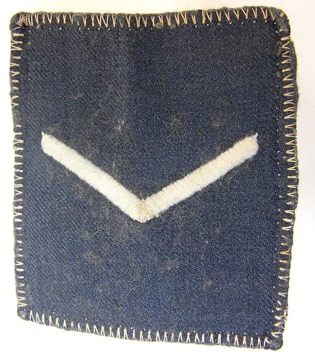 1985 Rhodesian Air Force Senior Aircraftsman rank Badge Patch Rhodesia Africa