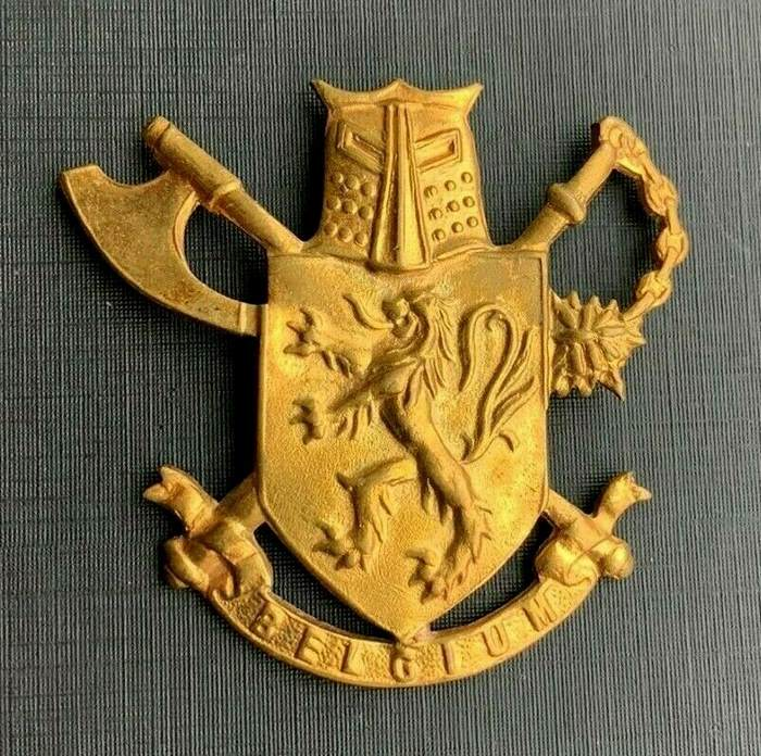 BELGIUM 3 PARA COMMANDO PARACHUTE AIRBORNE BELGIAN SPECIAL FORCES UN Beret Badge