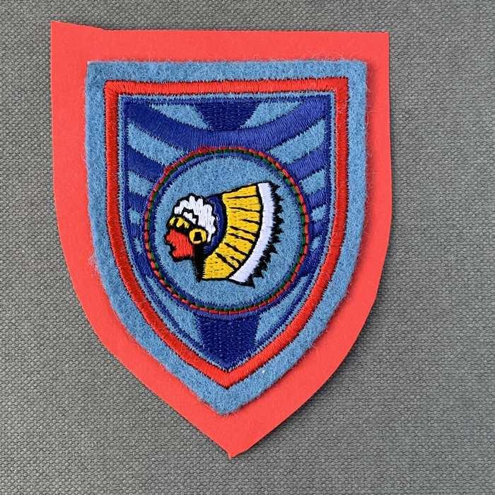 Belgium Belgian Air Force Indian Badge Patch The 15 Wing Tenacity #1