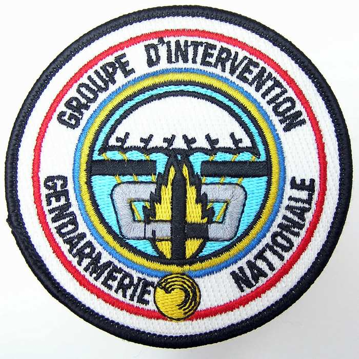 France Parachute Gendarmerie Nationale Securite Groupe Intervention Badge Patch