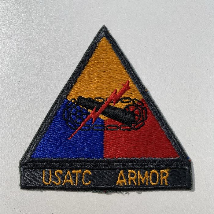US United States USATC Armoured Centre ARMY Kentucky Cloth Badge Patch